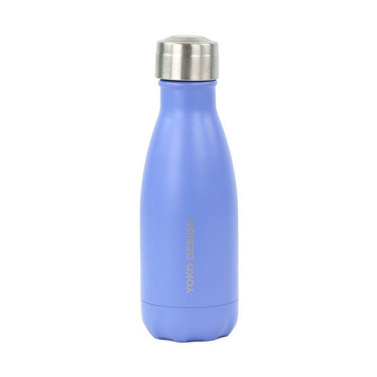 Bouteille isotherme 260 ml bleu mat