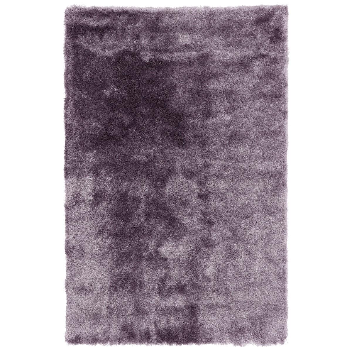 Tapis shaggy doux en Polyester Mauve 160x230 cm