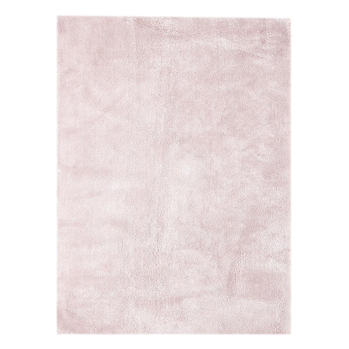 Tapis shaggy en Polyester Rose 200x290 cm