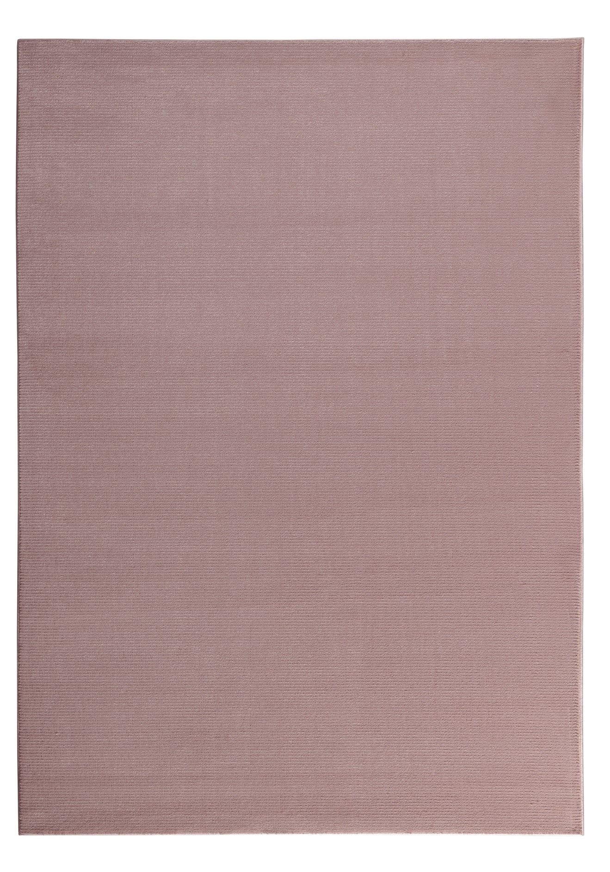 Tapis moderne uni doux rose 160x230