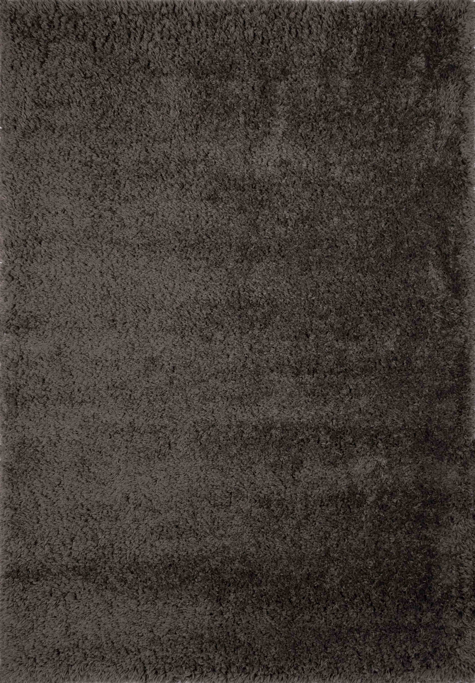 Tapis éco-responsable uni anthracite 80x150