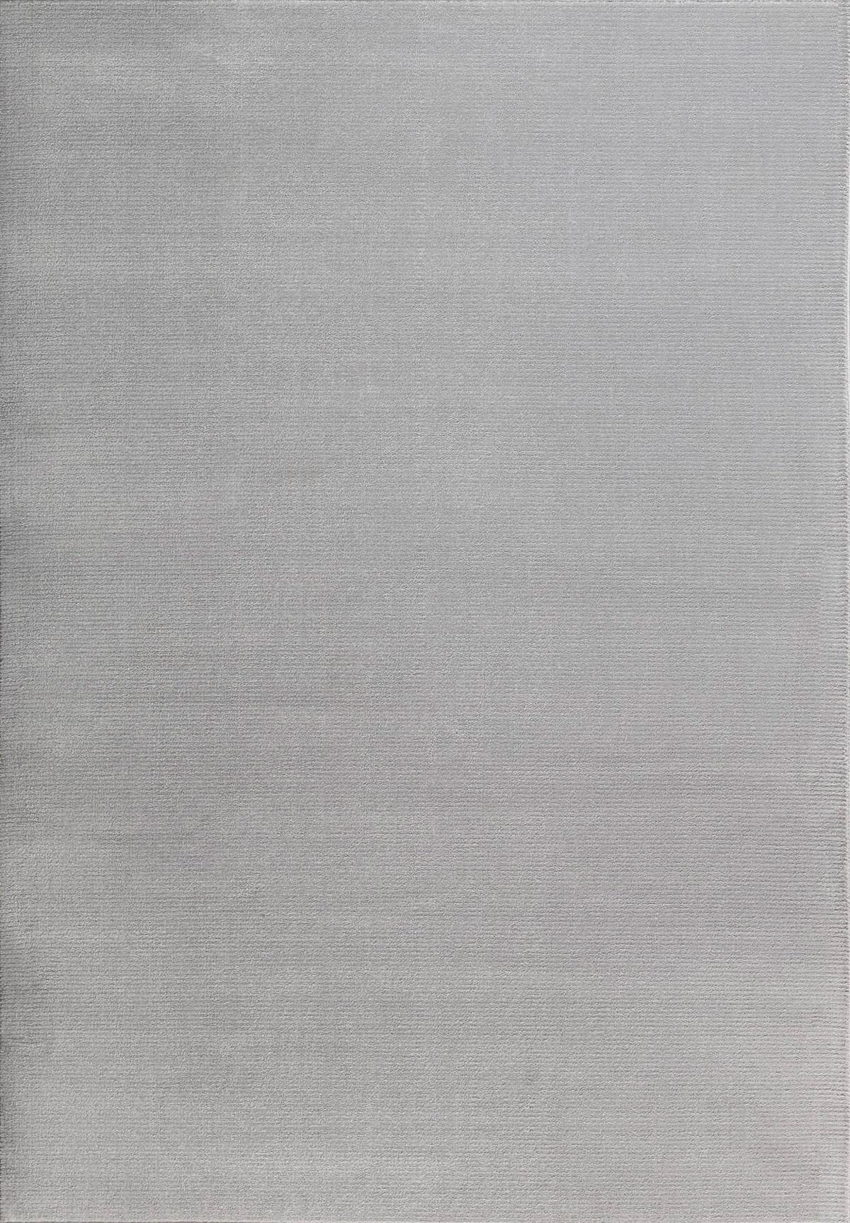 Tapis moderne uni doux gris 120x170