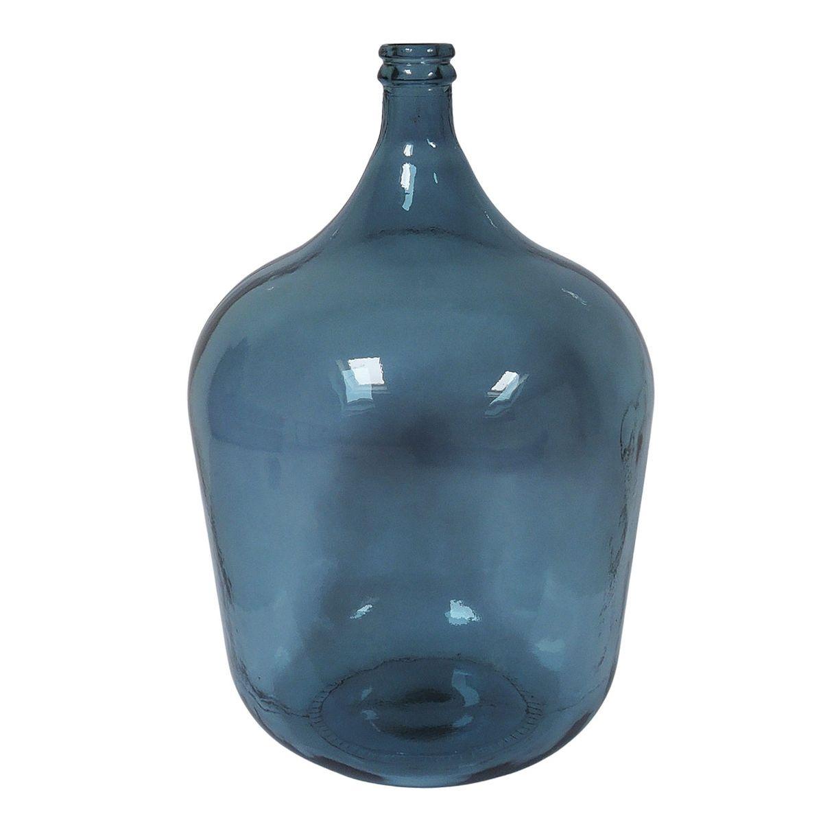 Bonbonne dame jeanne 34L bleu
