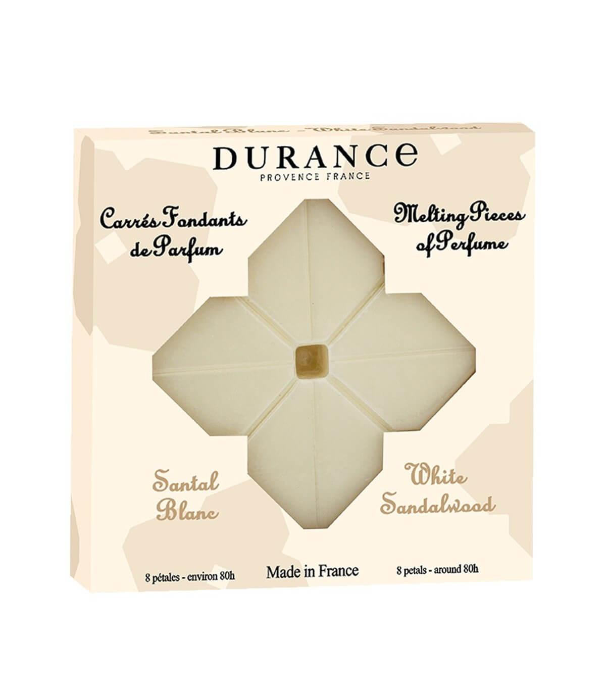 Carrés fondants de parfum santal blanc