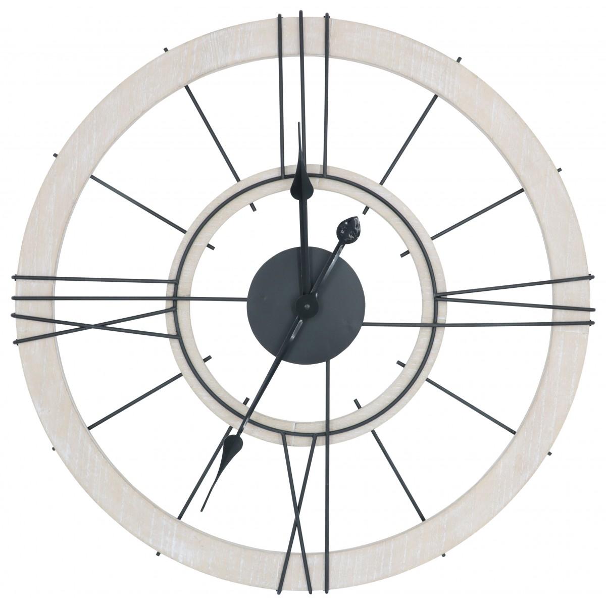 Horloge murale chiffres romains D60