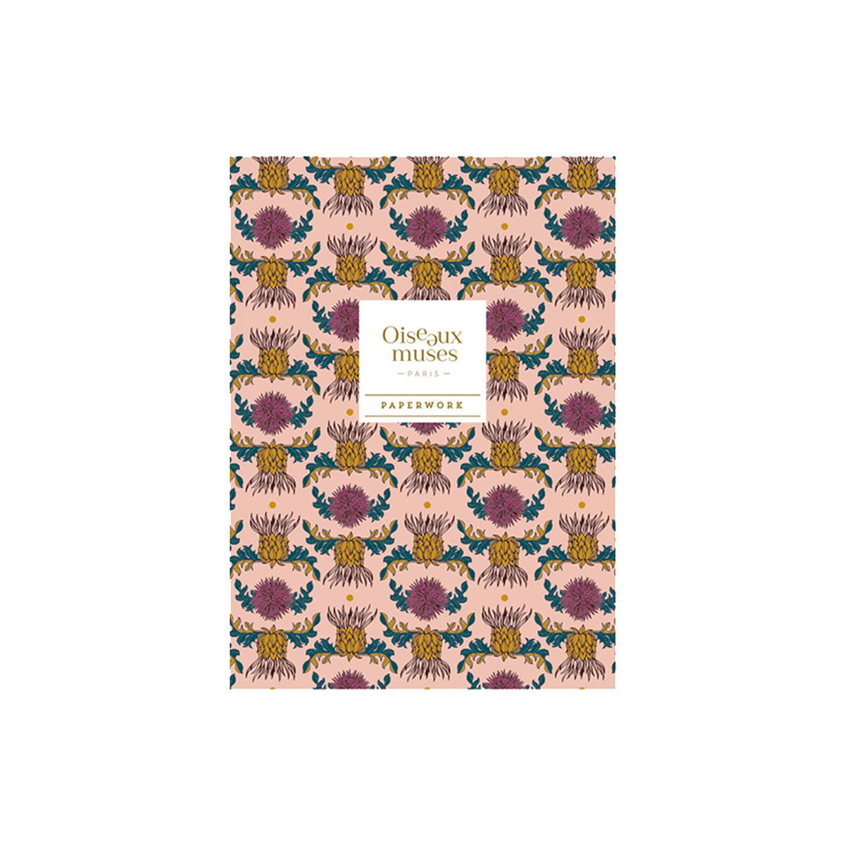 Cahier de notes chardons