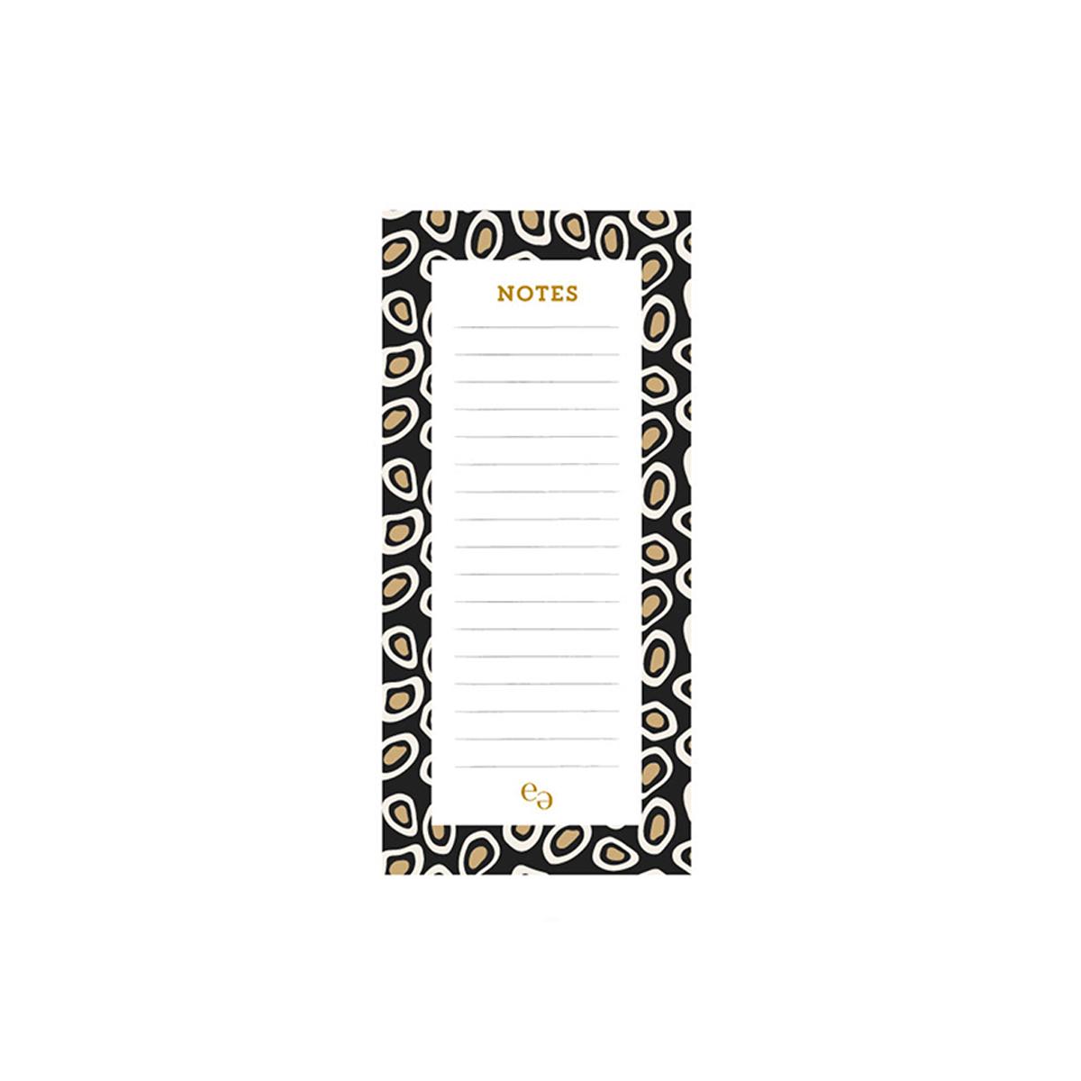 Bloc notes de bureau  panthere