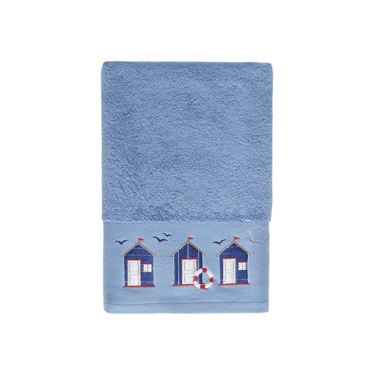 Drap de bain cabine 21 Blanc 70x140 cm