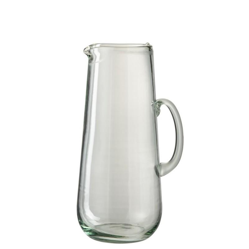 Carafe verre transparent extra H33cm