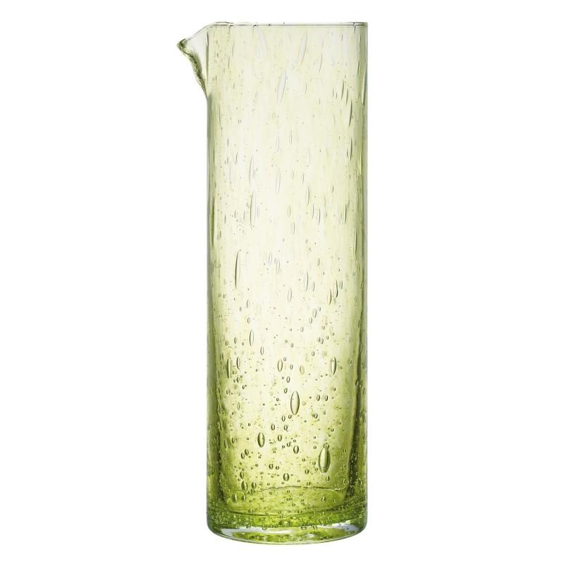 Broc en verre vert