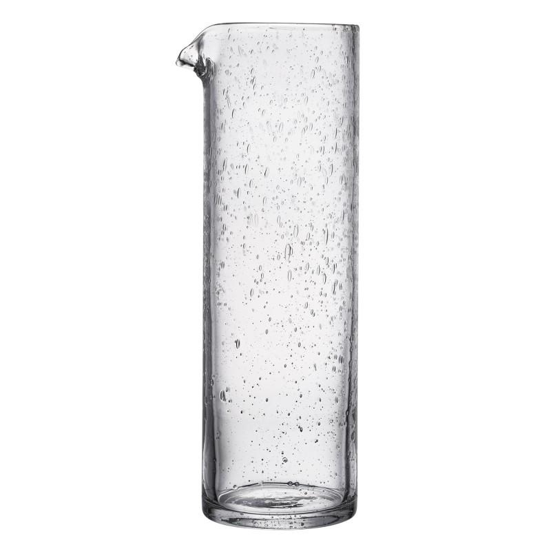 Broc en verre transparent