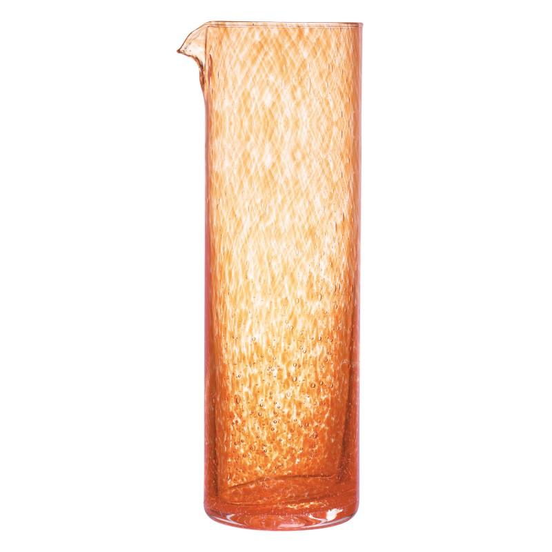 Broc en verre orange