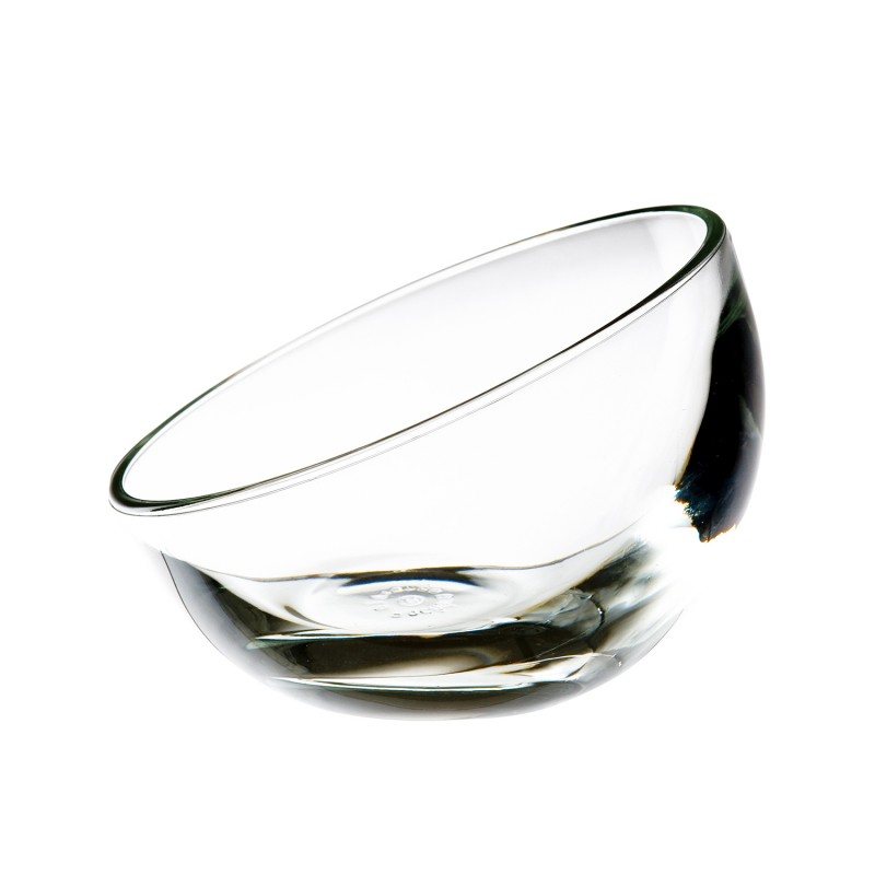 Coupe basse en verre transparent - lot de 6