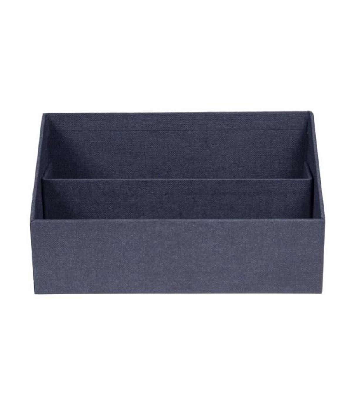 Organisateur de courriers et enveloppes - Bleu