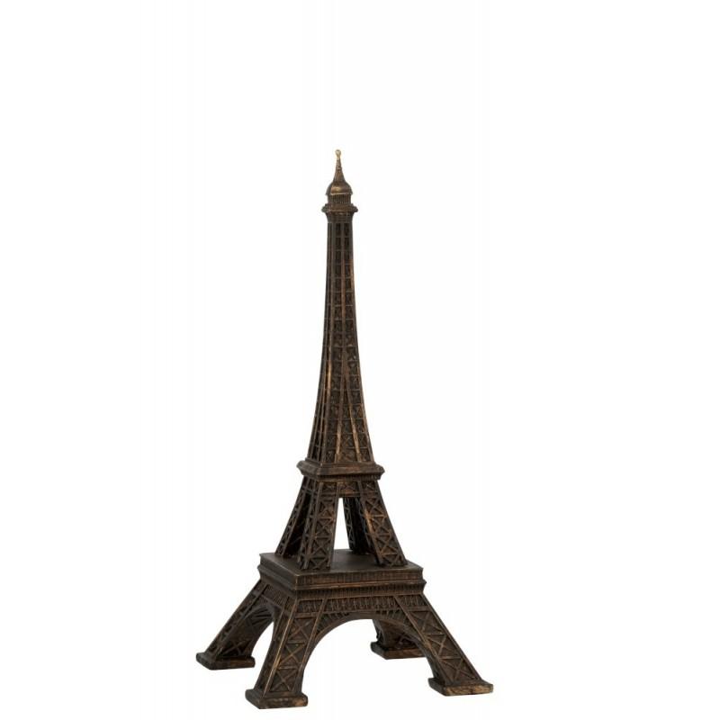 Tour Eiffel résine bronze H44cm