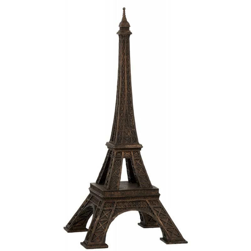 Tour Eiffel résine bronze H53cm