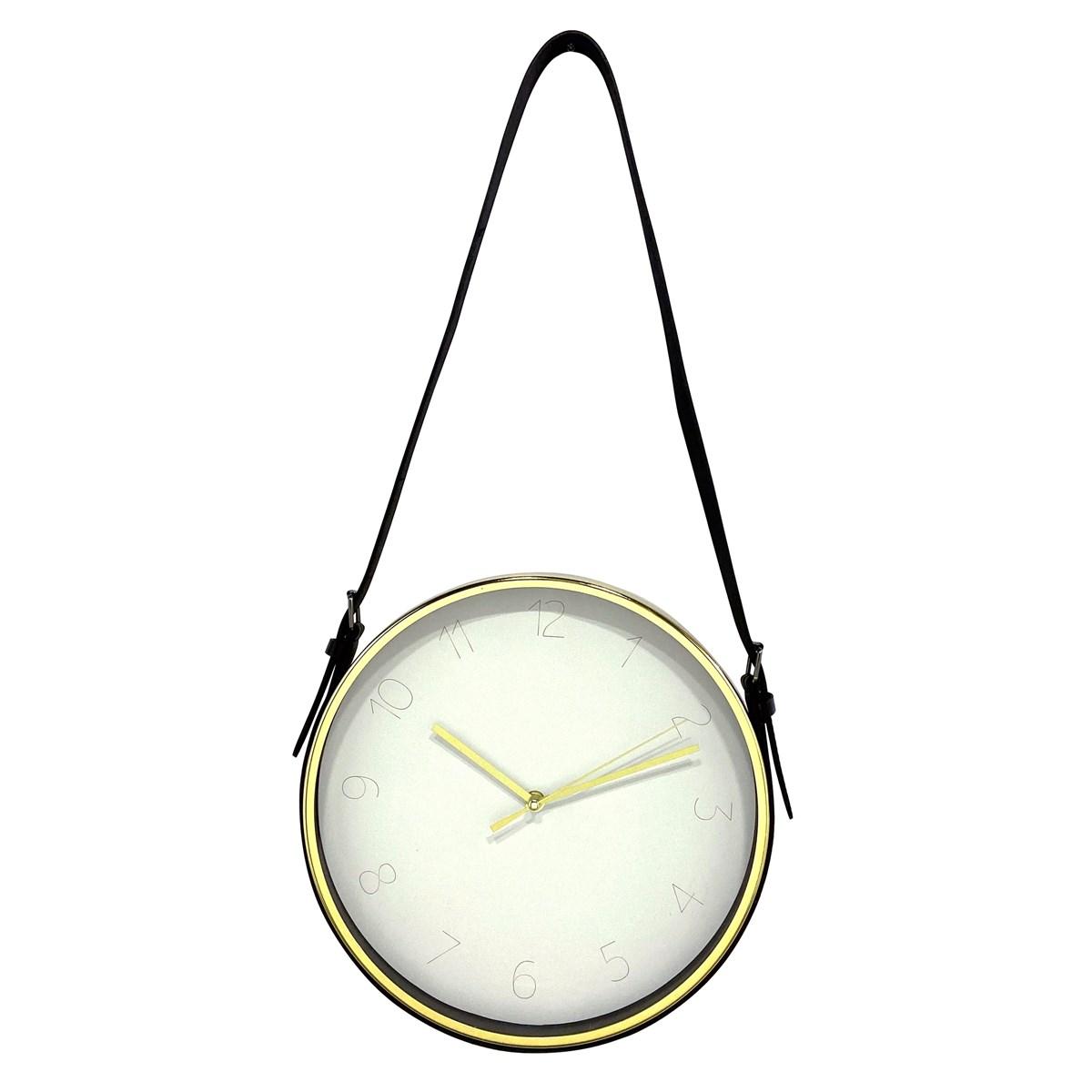 Horloge laniere en Métal Blanc