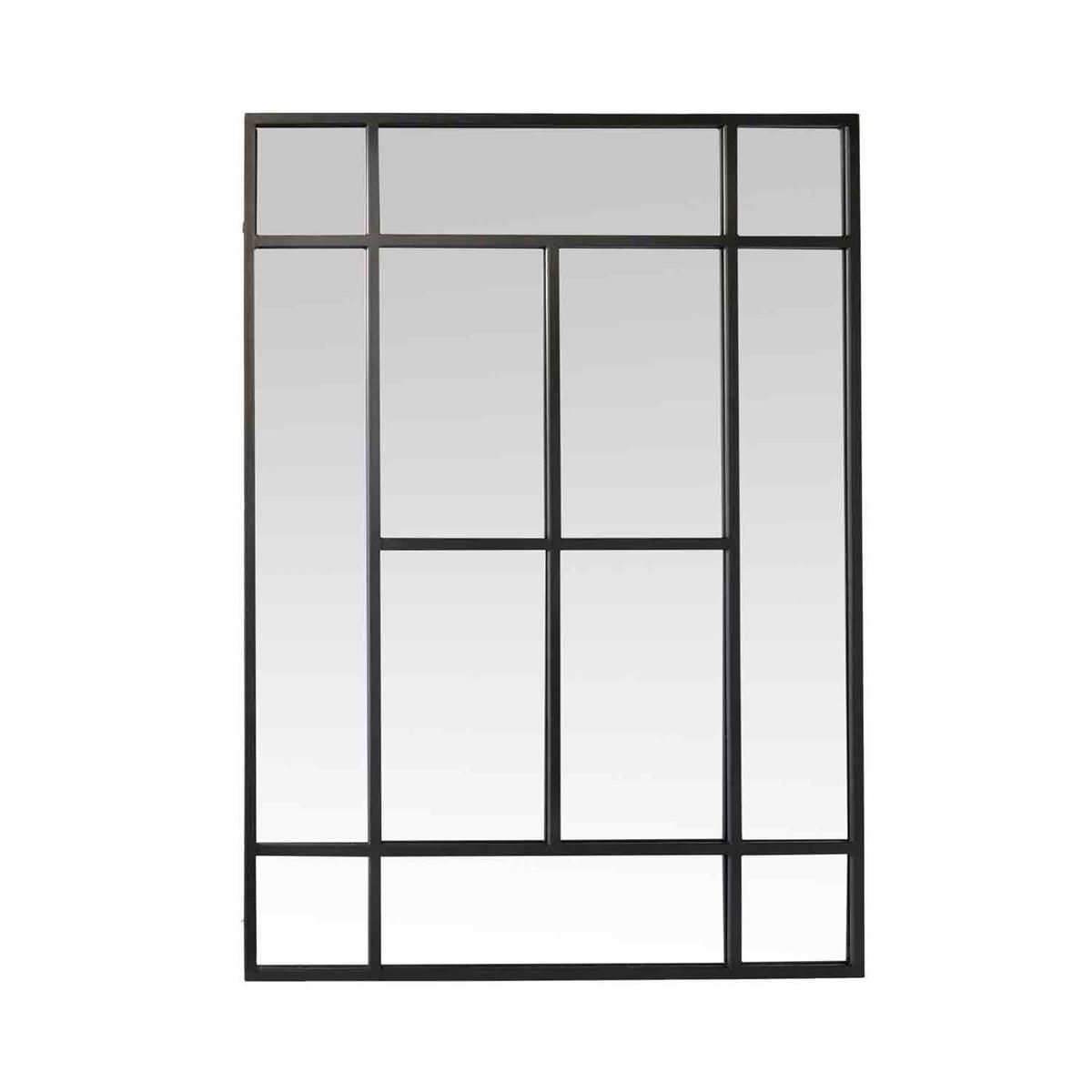Miroir convexe en Métal Noir