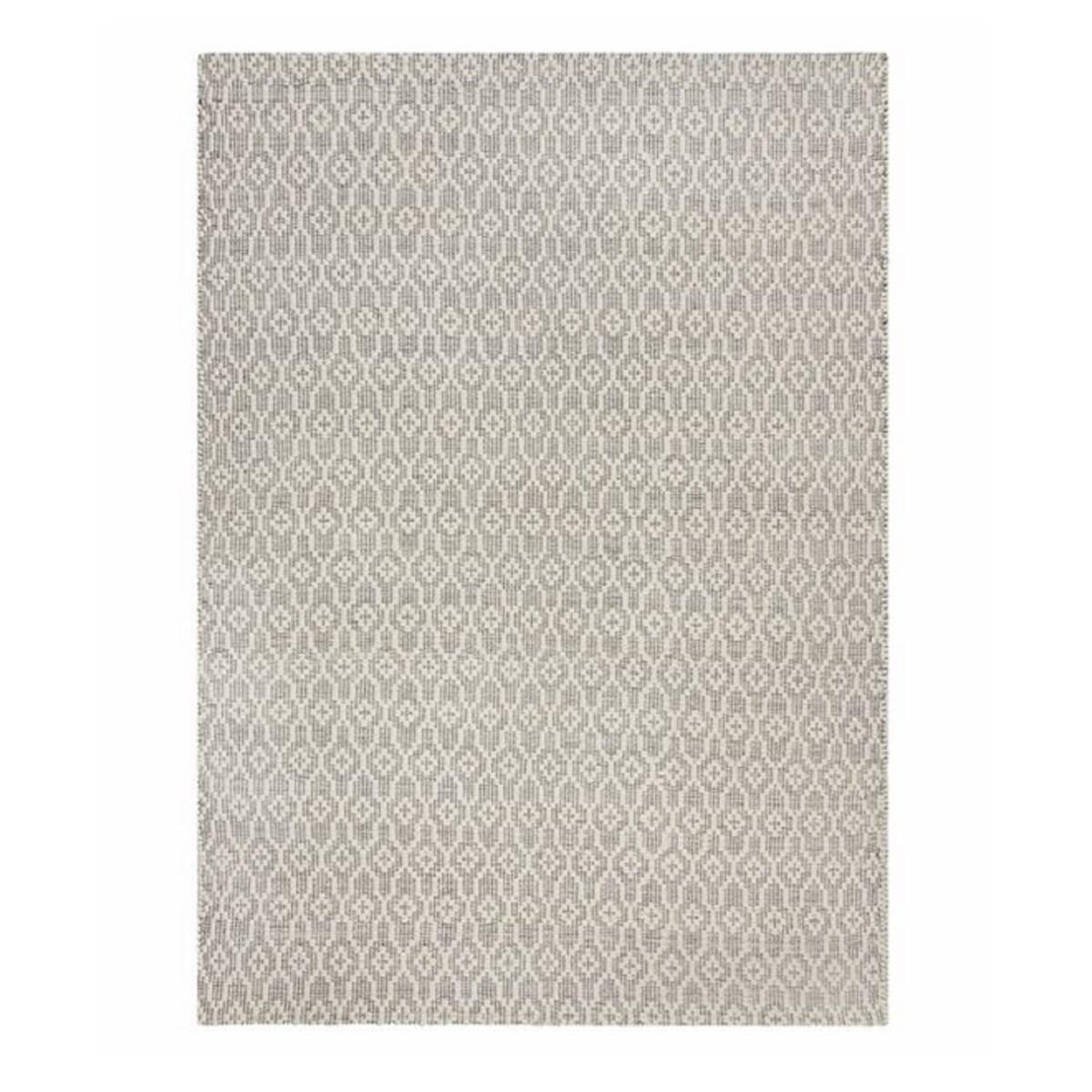 Tapis en laine en Laine Beige gris 80x150 cm