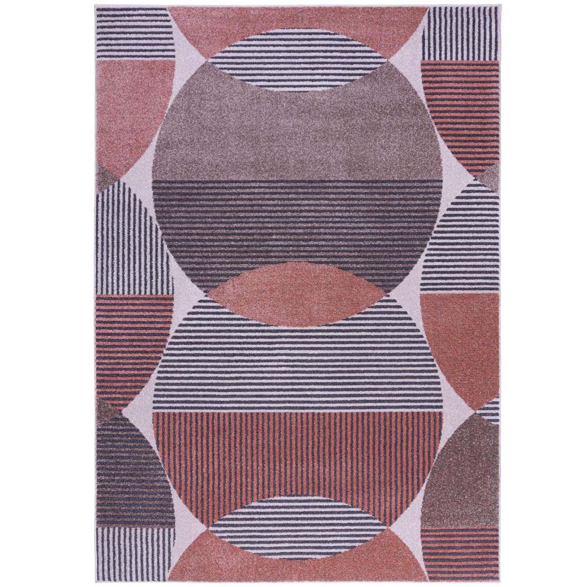 Tapis de salon en Polypropylène Rose foncé 120x170 cm