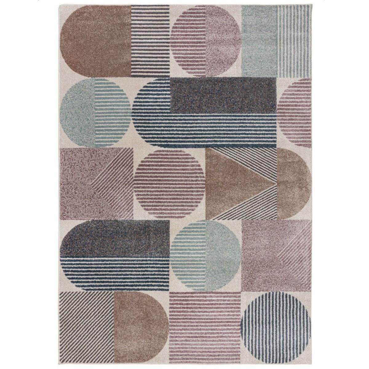 Tapis de salon en Polypropylène Multicolore 160x230 cm