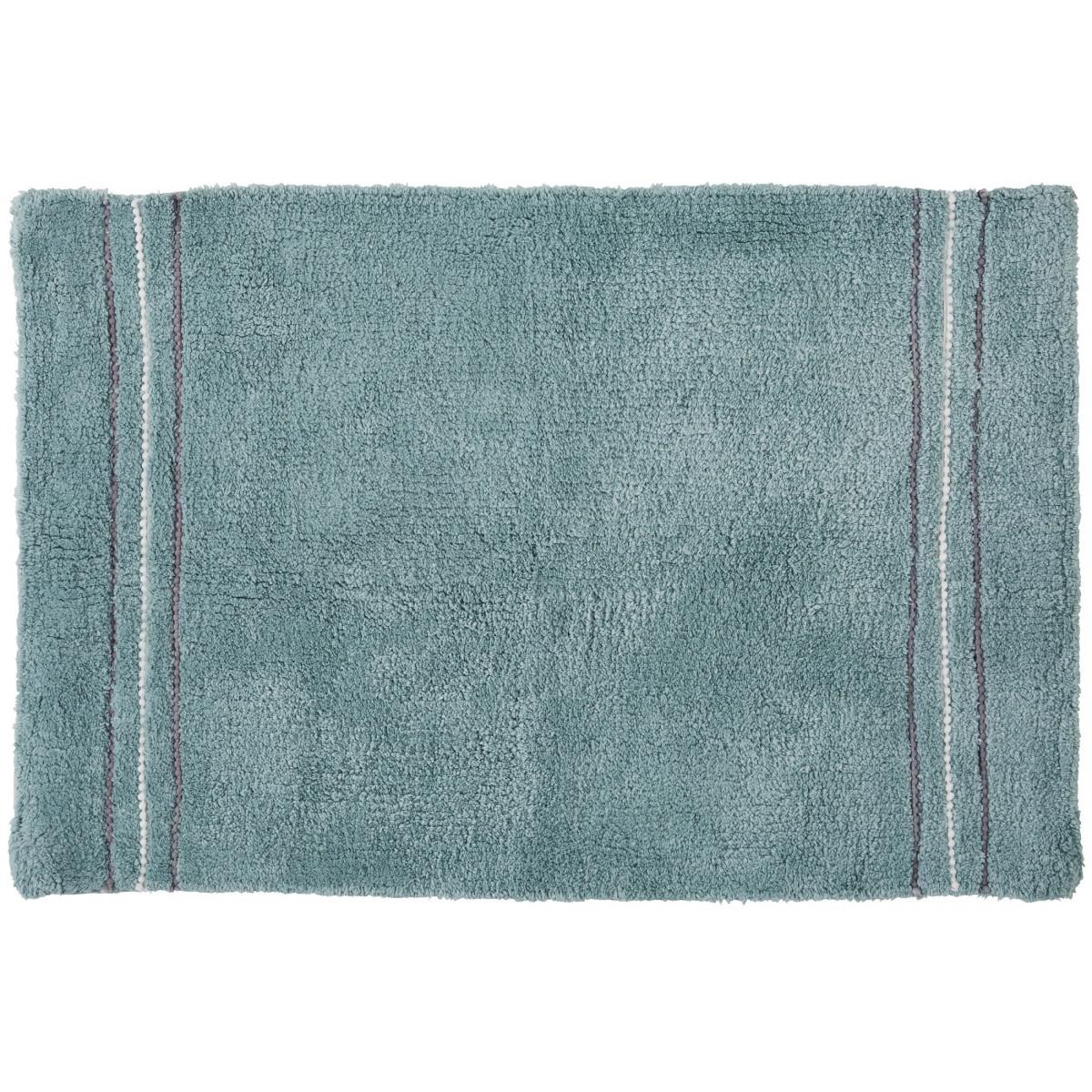 Tapis de bain fantaisie 50x80cm coton Linea Aqua