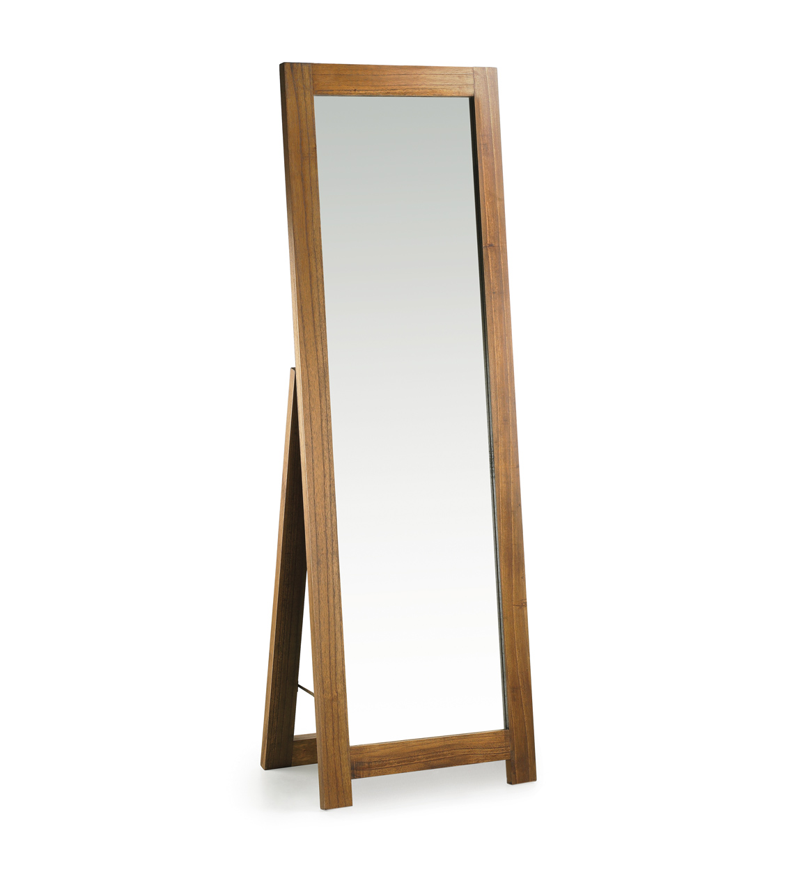 Miroir en bois marron H160