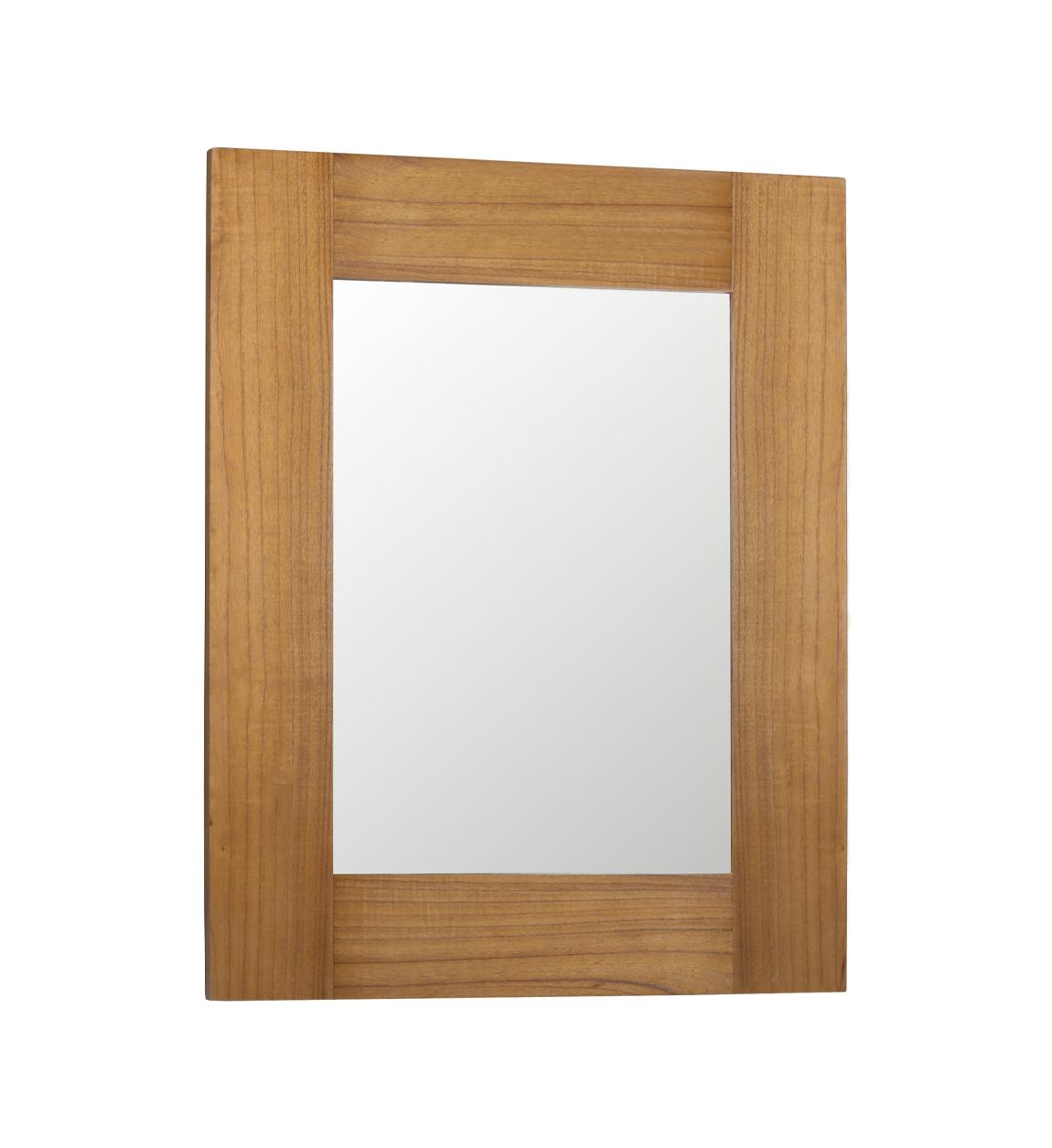 Miroir en bois marron L100