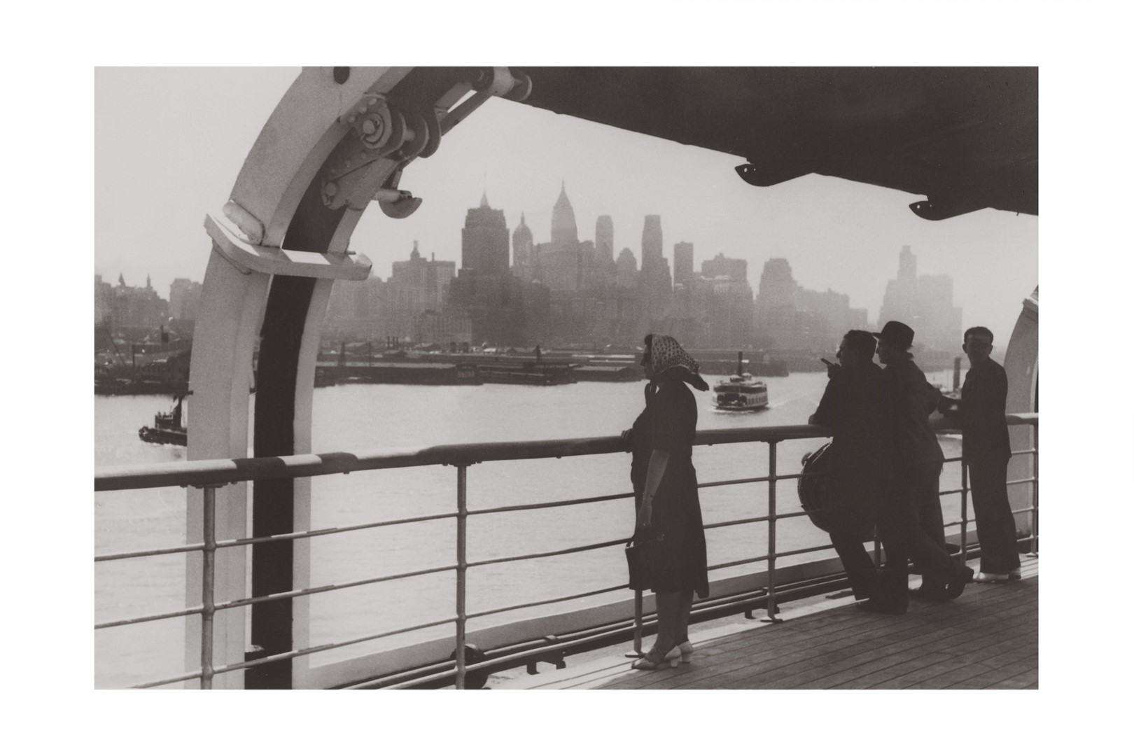 Photo ancienne noir et blanc New-York n°06 alu 70x105cm