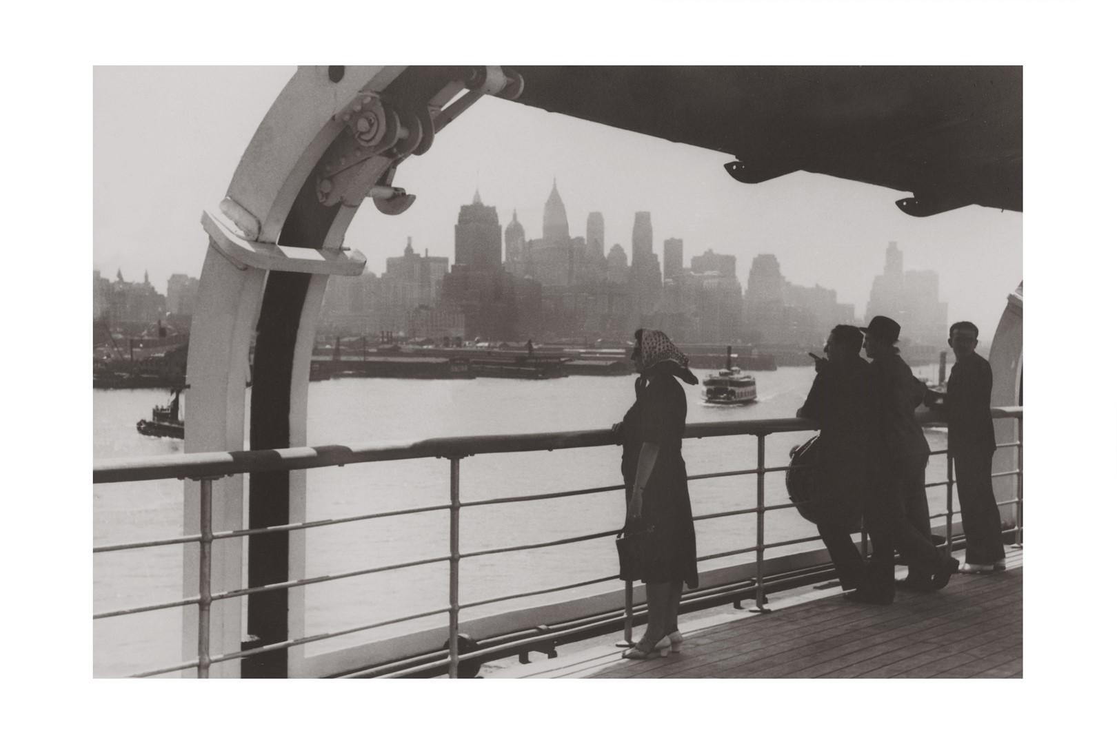 Photo ancienne noir et blanc New-York n°06 alu 60x90cm
