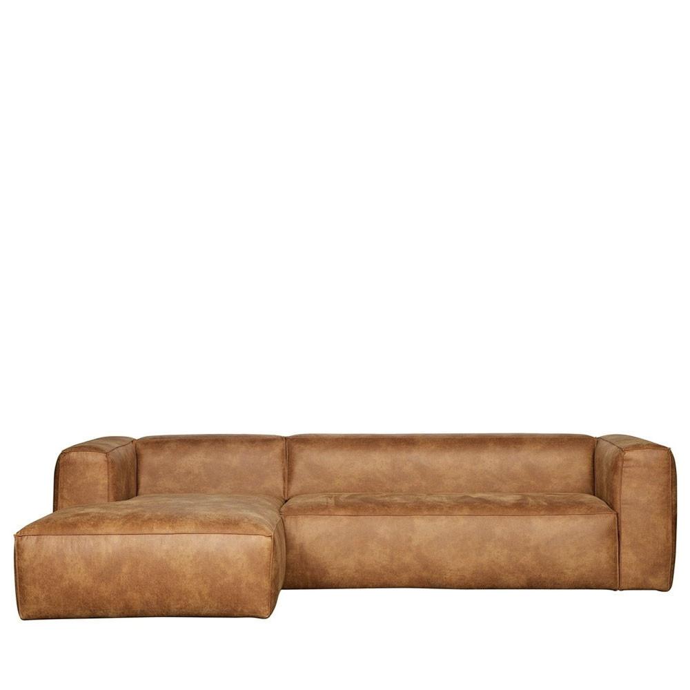 Canapé d'angle 5 places Cuir Contemporain Confort