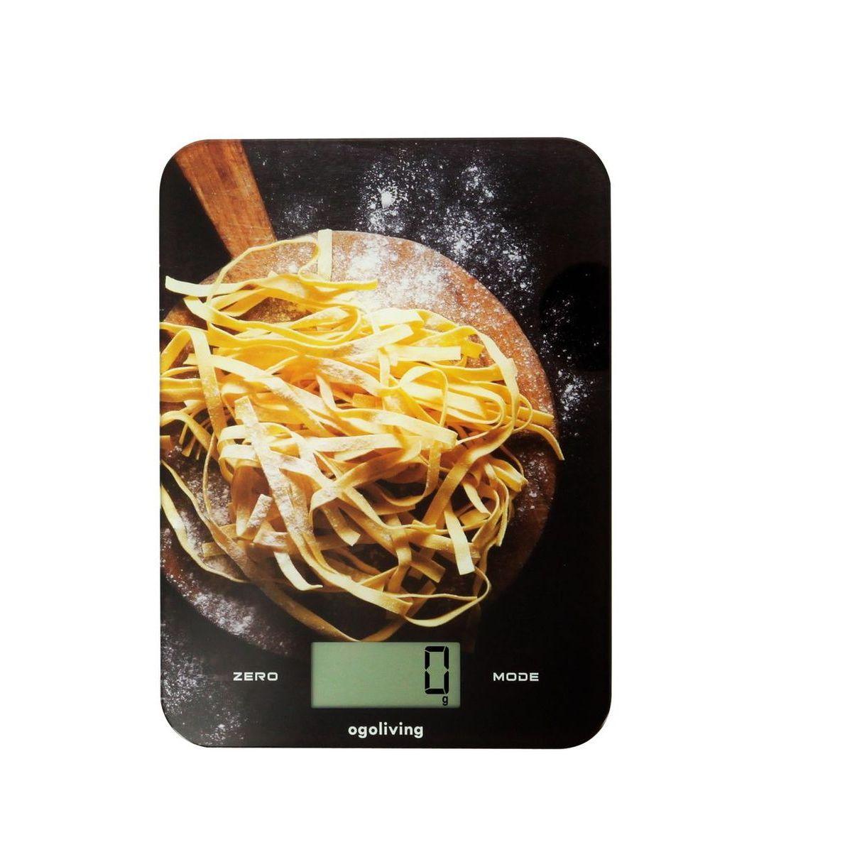 Balance de cuisine électronique en verre