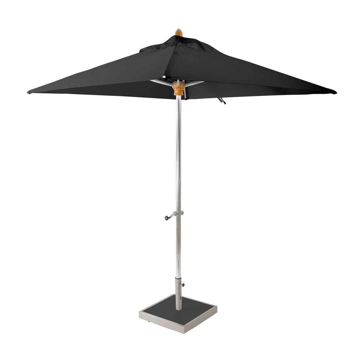 Parasol toile noire