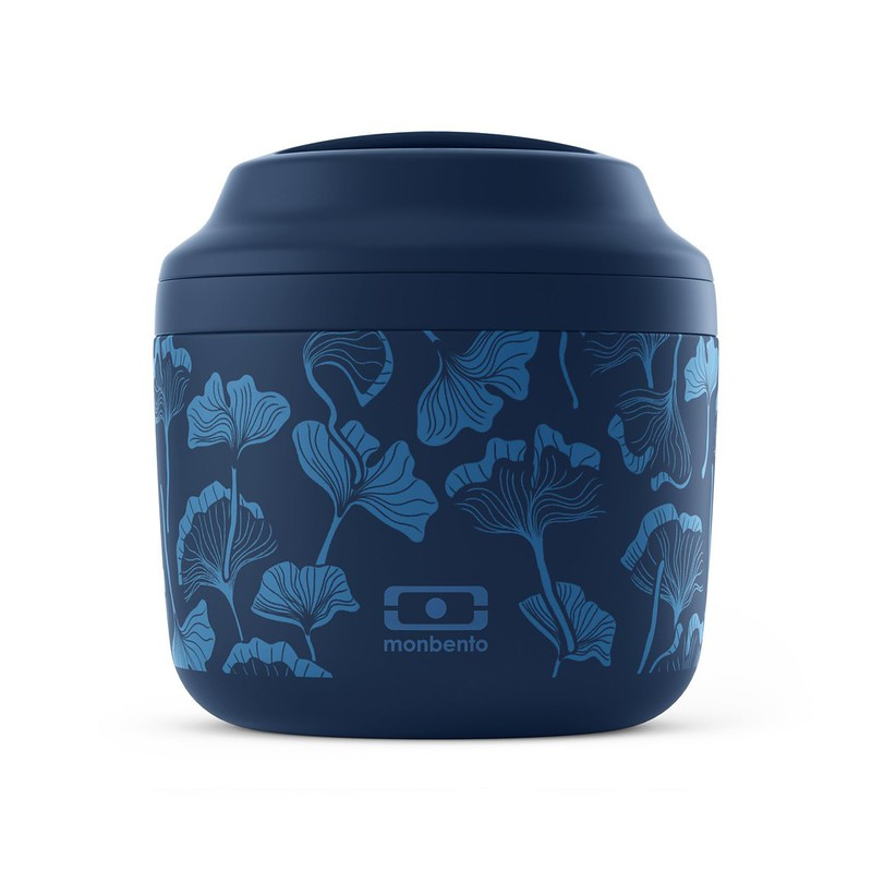 Lunch box isotherme bleu ginkgo 0,55L