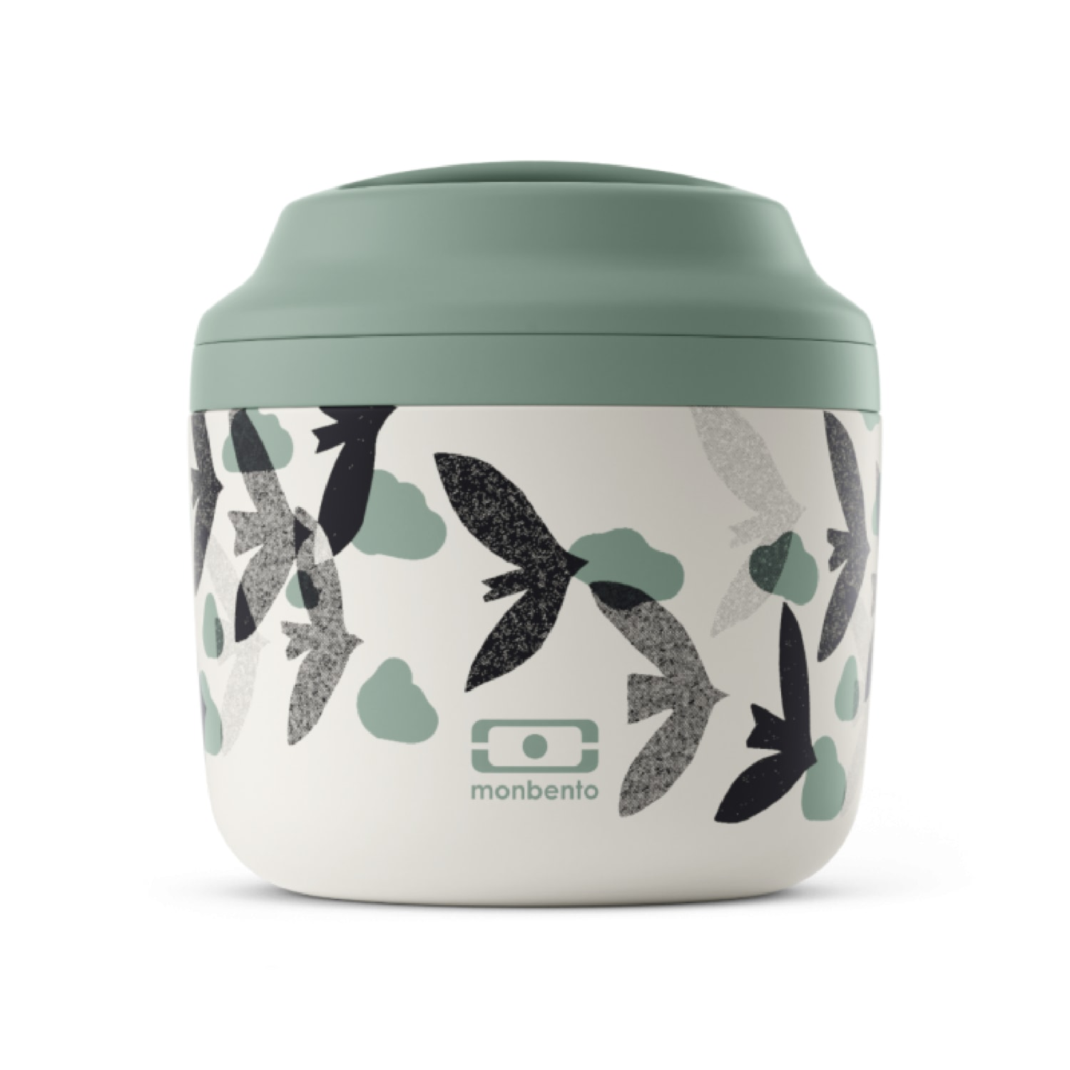 Lunch box isotherme graphic birds 0,55L