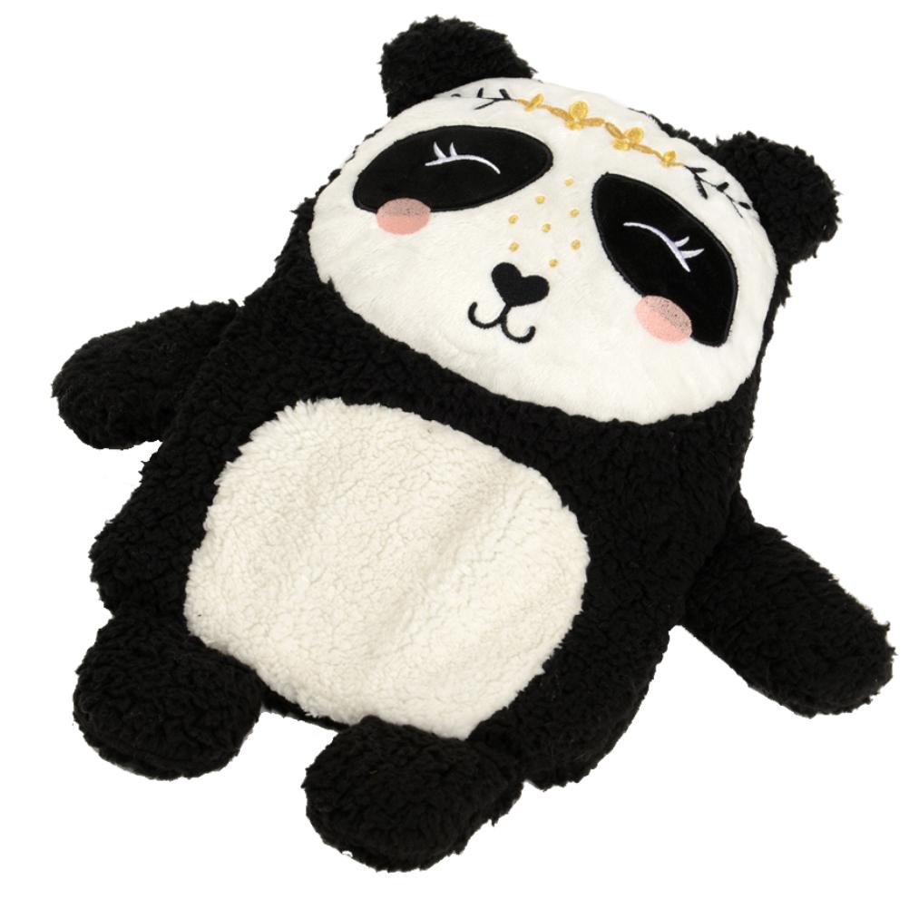 Bouillotte traditionnelle panda