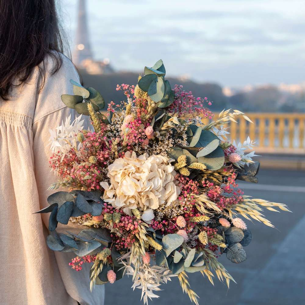 Bouquet fleurs séchées Hector L