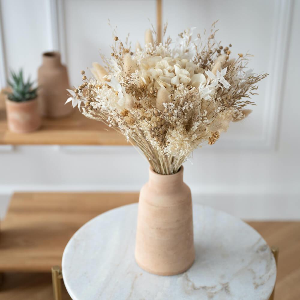 Bouquet fleurs séchées Côme L