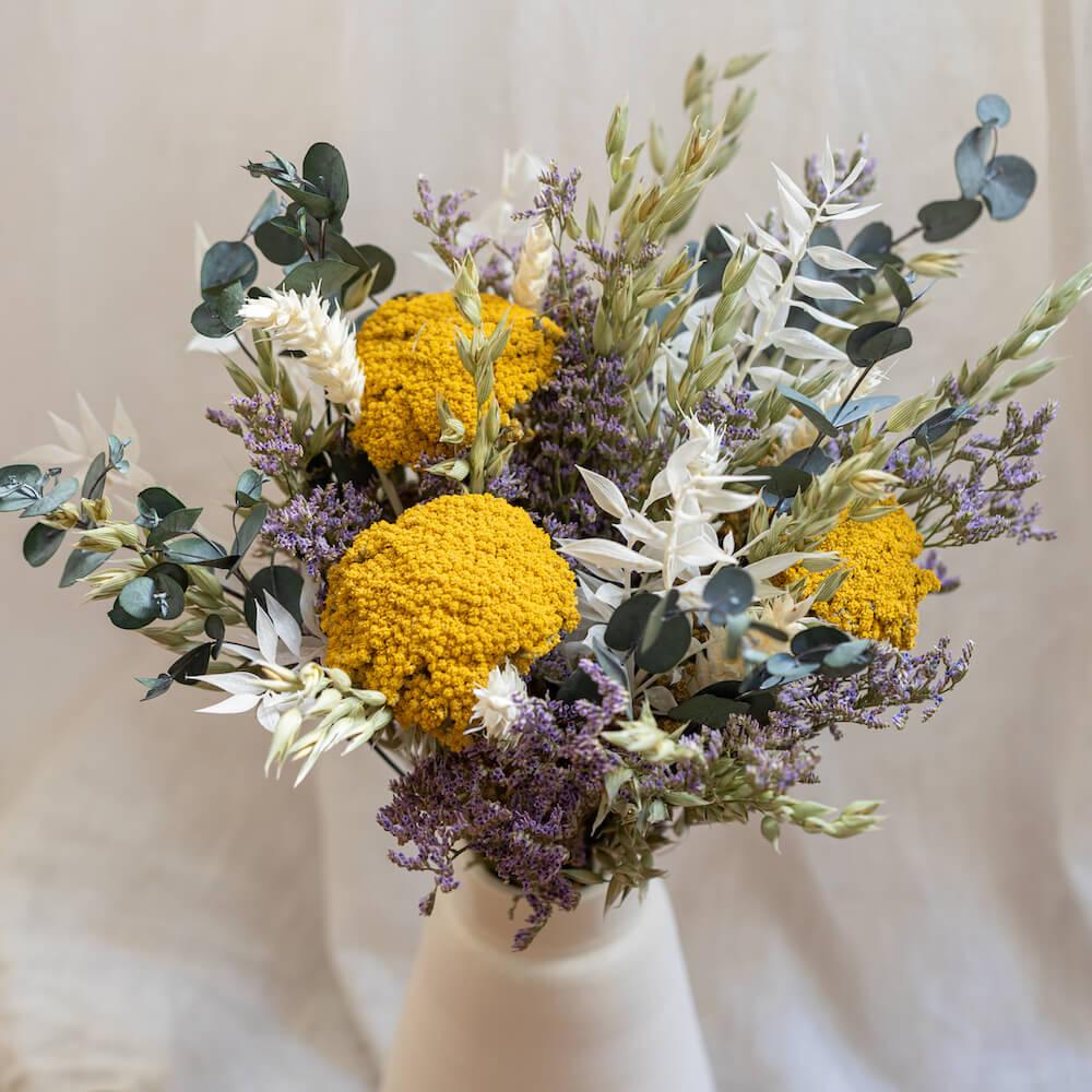 Bouquet fleurs séchées Eloi S