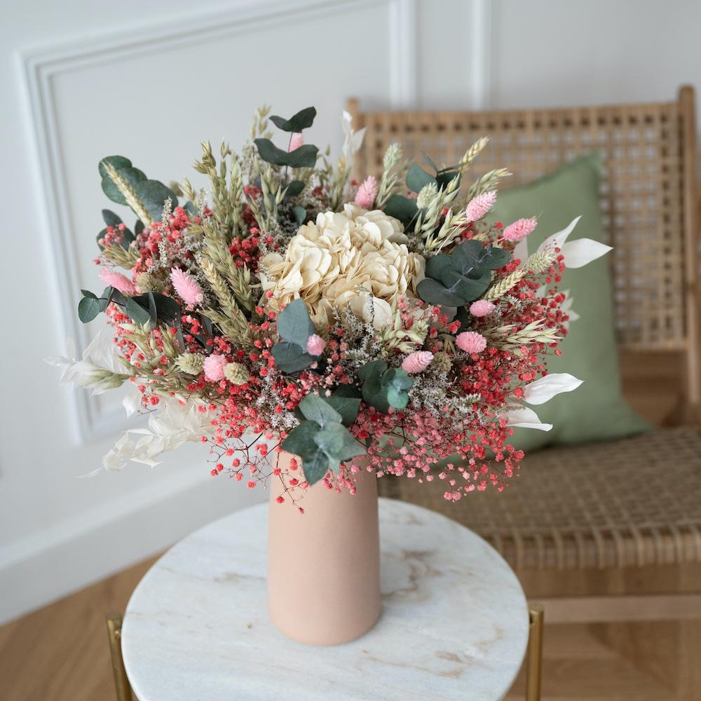 Bouquet fleurs séchées Hector M