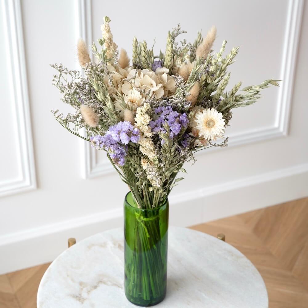 Bouquet fleurs séchées Lucien L