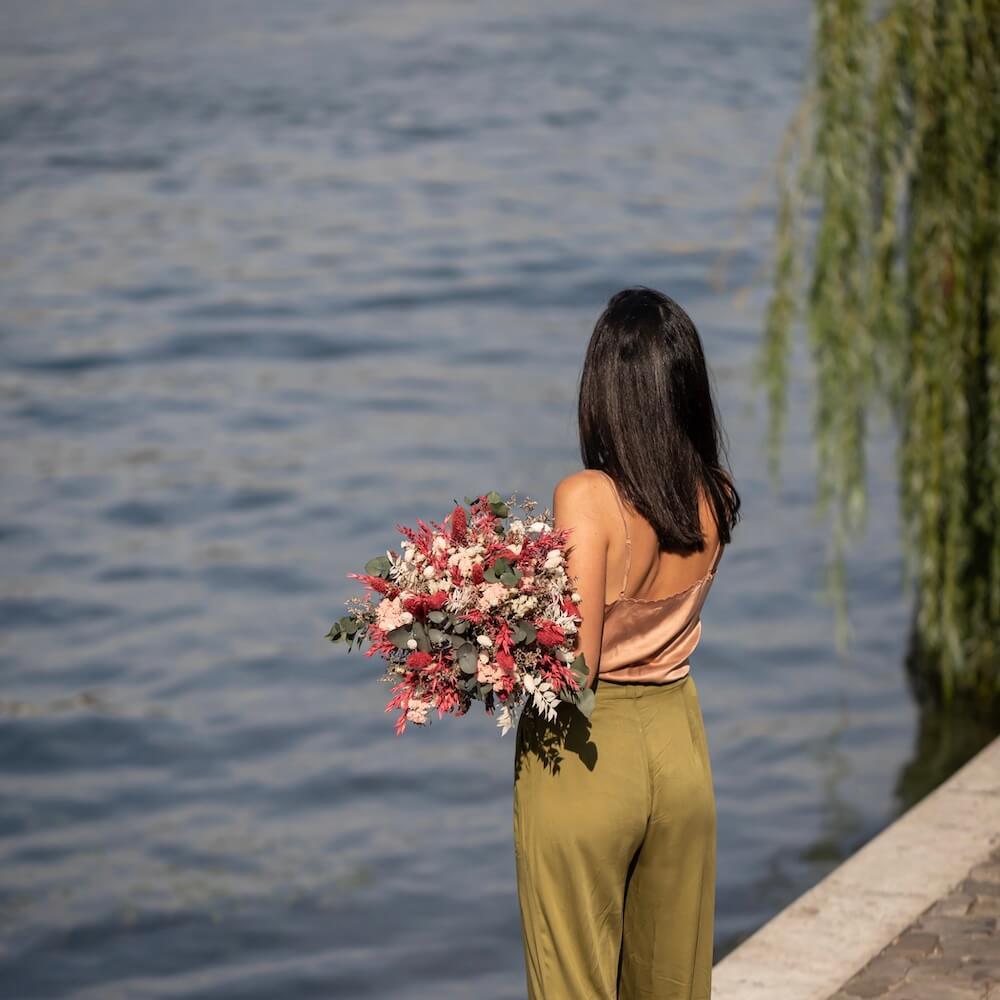 Bouquet fleurs séchées Lucien M