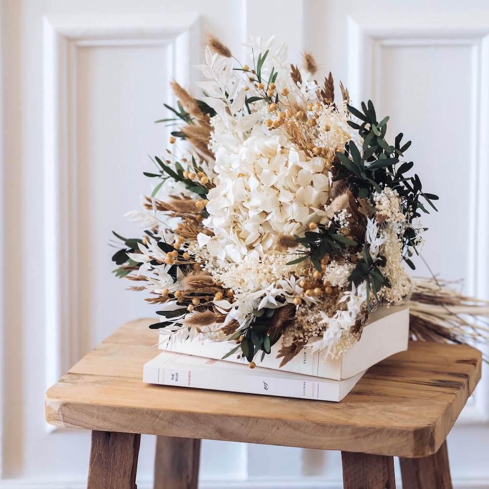 Bouquet fleurs séchées Gabriel L