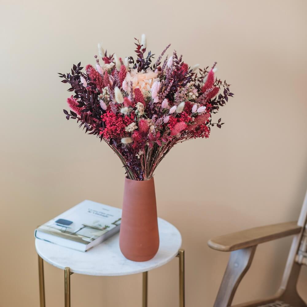 Bouquet fleurs séchées Léopold M