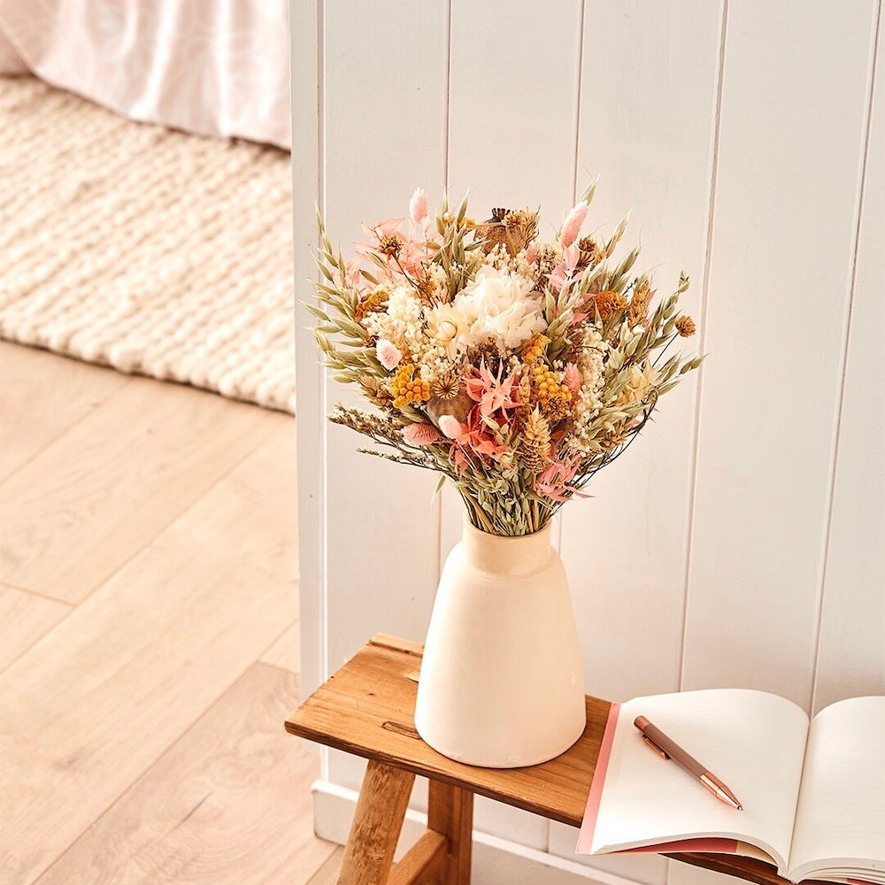 Bouquet fleurs séchées Edgar S