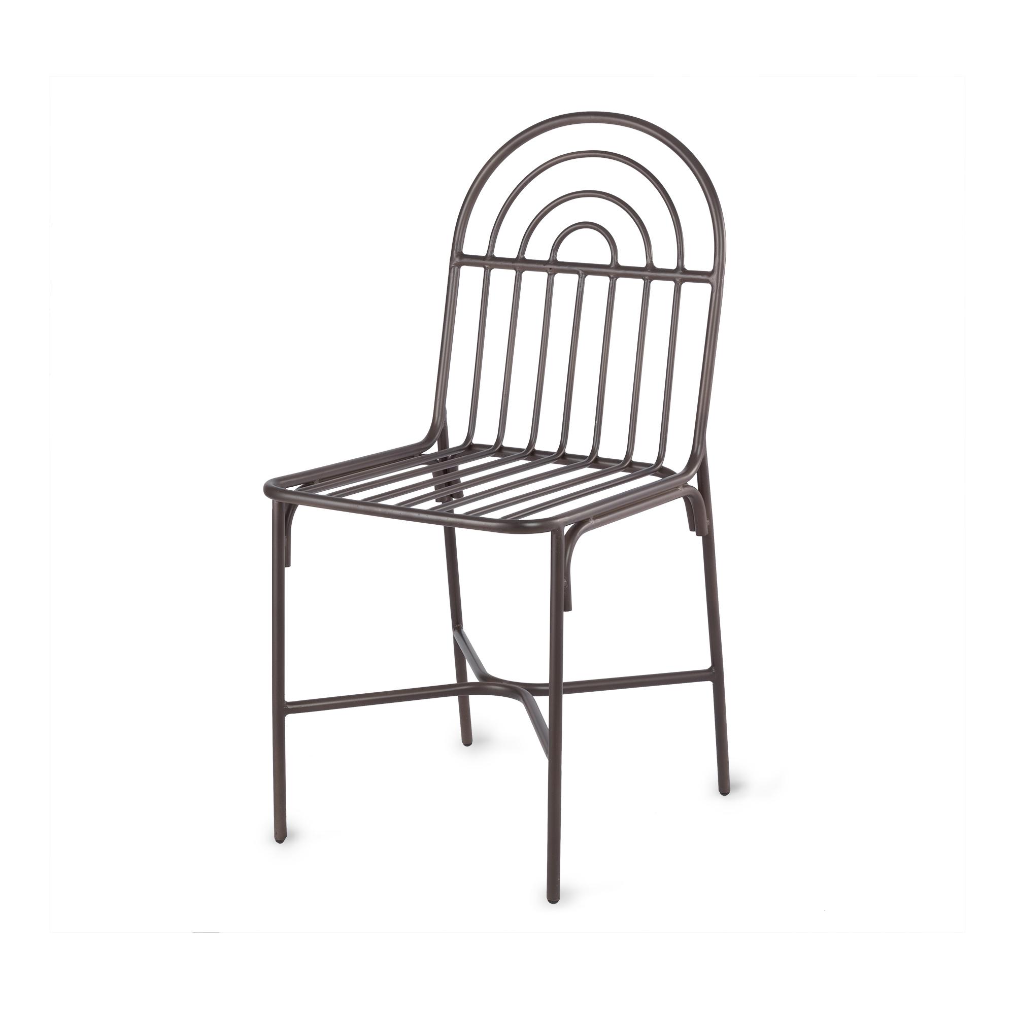 Chaise en métal H89cm