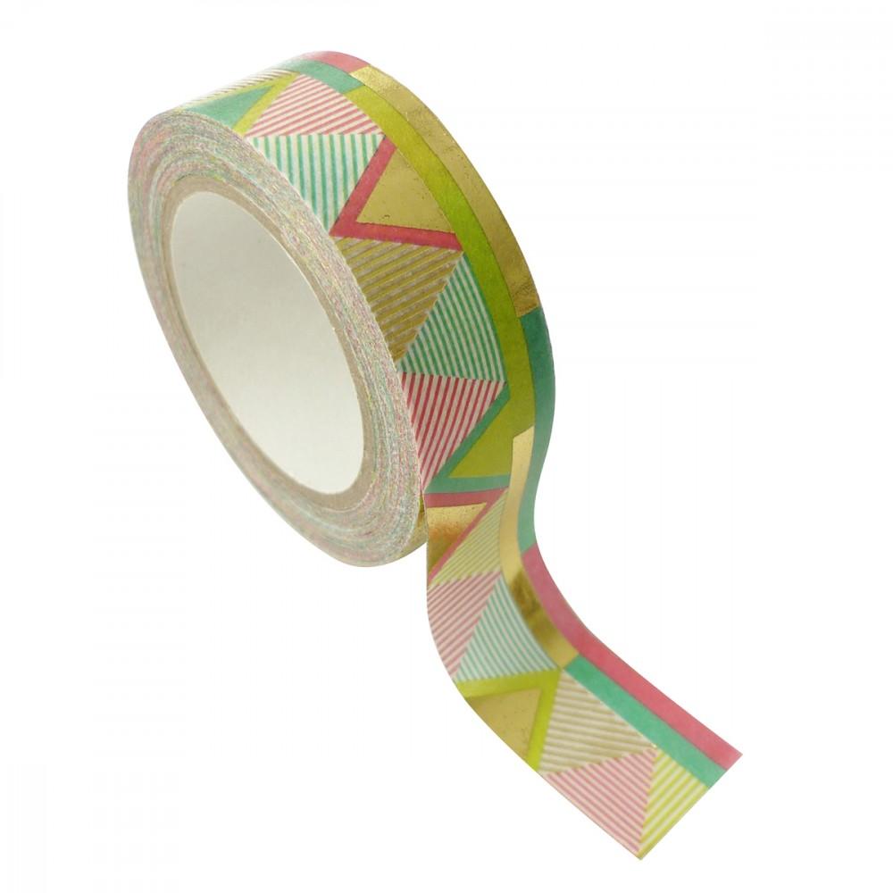 Masking tape multicolore 1,5cmx10m