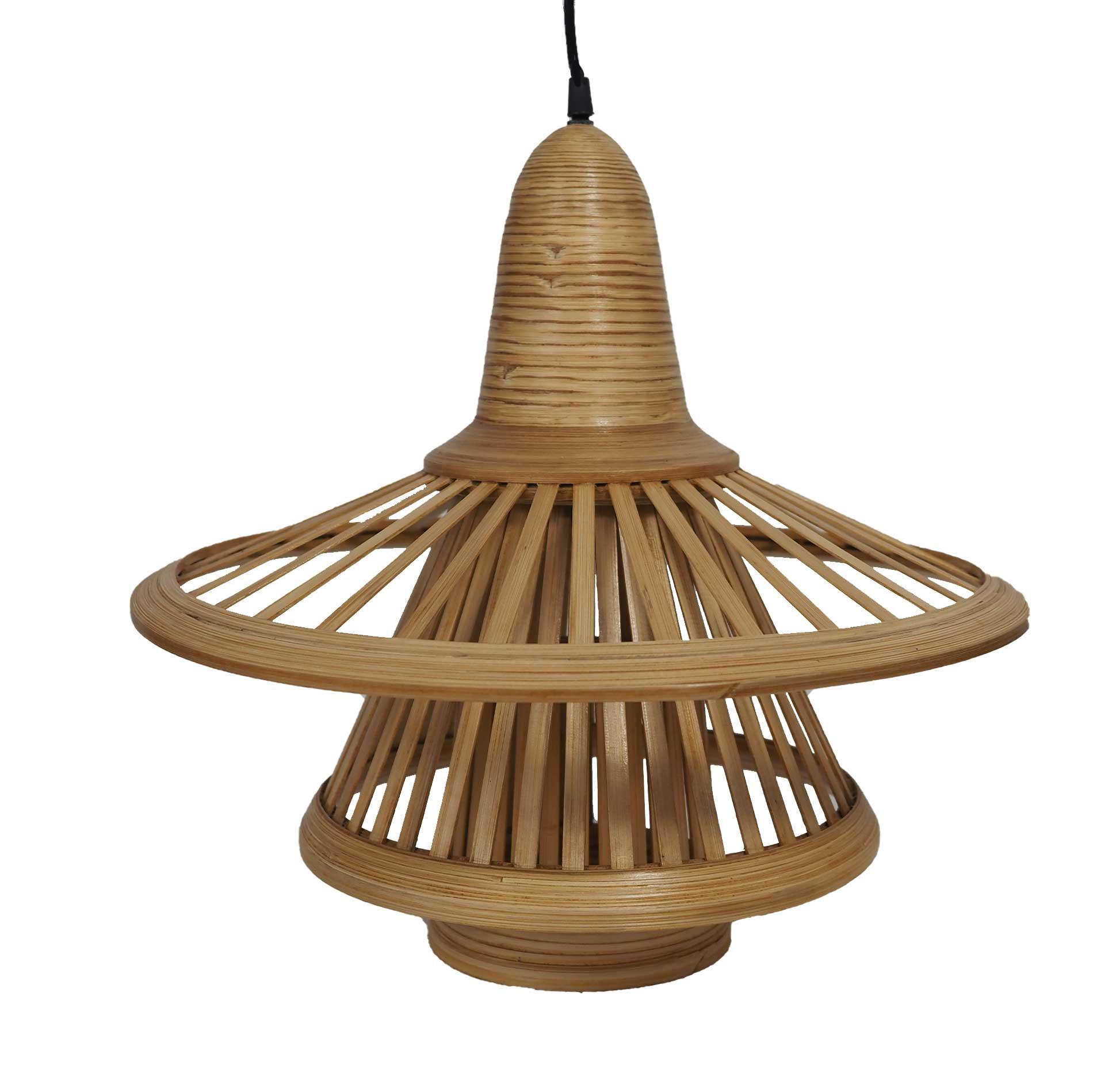Suspension en bambou design D40