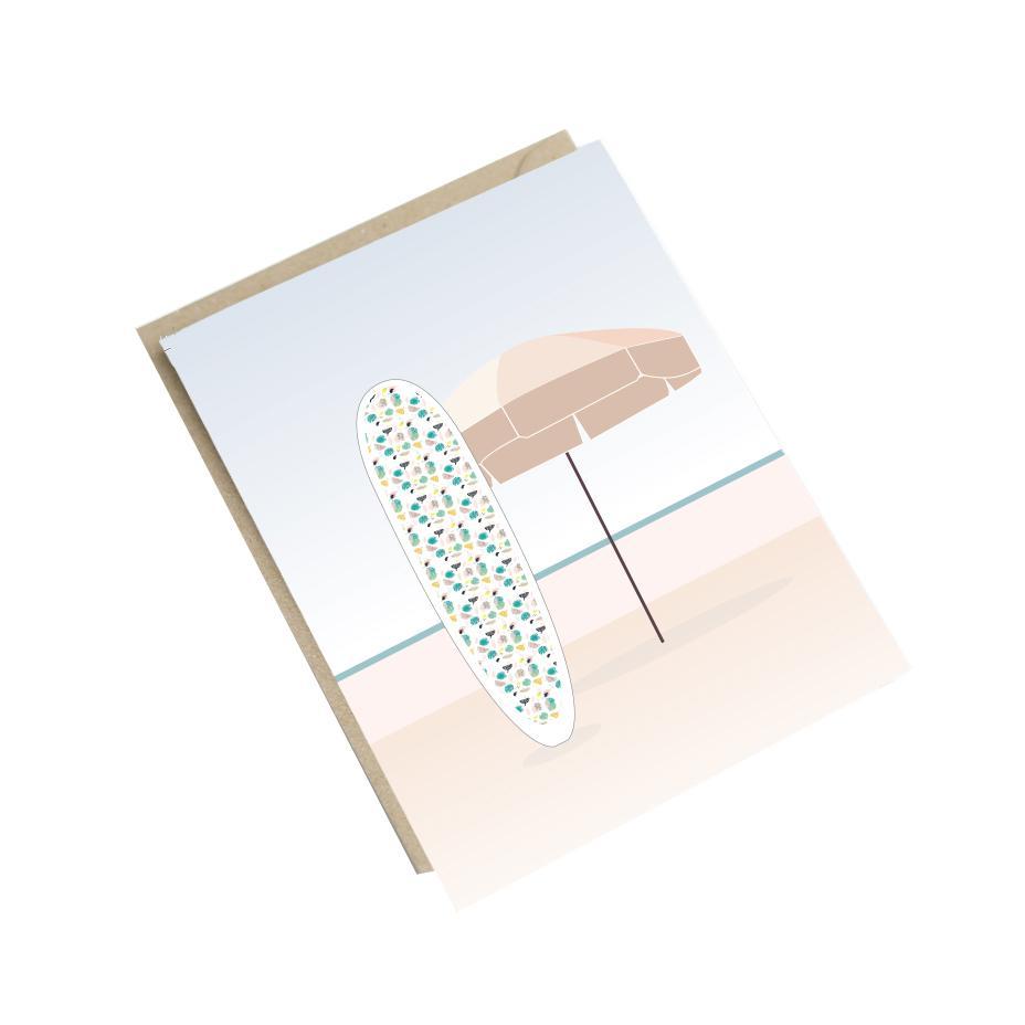Carte parasol A6
