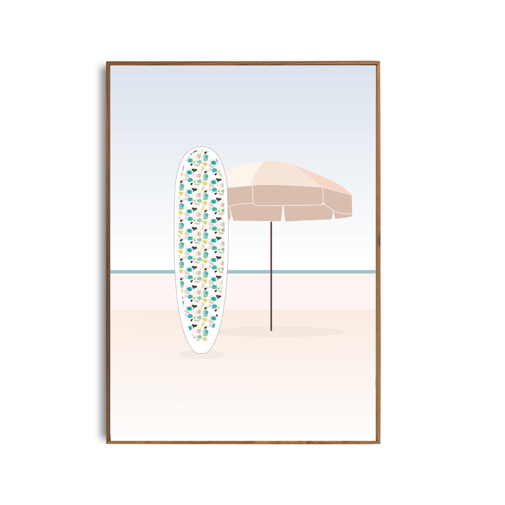 Affiche Parasol A3